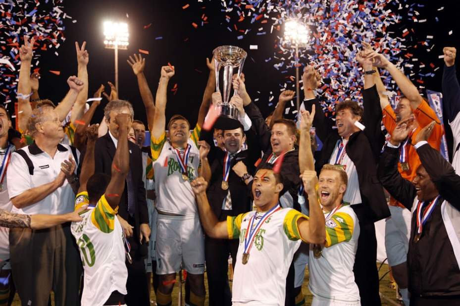 Defending NASL champion Tampa Bay Rowdies.
